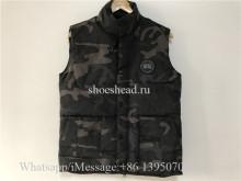 Canada Goose Freestyle Vest Camo Black Jacket