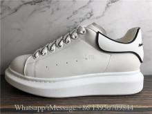 Alexander McQueen Oversized Sneaker White Black Logo