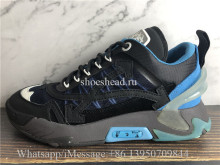 OFF-WHITE Blue & Black ODSY-2000 Sneakers