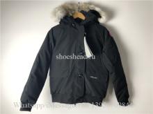 Canada Goose Black Down Jacket 1