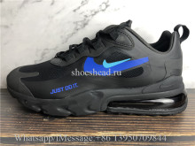 Nike Air Max 270 React Just Do It Black Blue