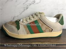 Super Quality Gucci Screener Low Top Sneakers