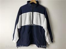 Balenciaga Blue Black Windbreaker Jacket