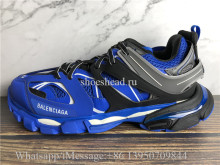 Balenciaga Track 3.0 Trainer Blue Black Grey