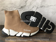 Balenciaga Speed 2.0 Trainer Tan White