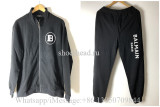 Balmain Black Sport Jacket & Pants