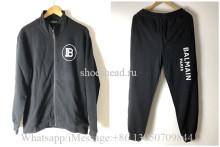 Balmain Black Sport Jacket & Pants