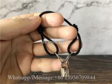 Louis Vuitton Sliver Logo Bracelet
