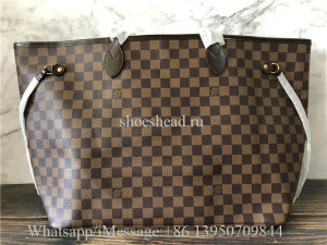 Original Louis Vuitton Neverfull GM Damier Ebene Bag N41357