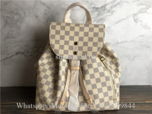 Original Louis Vuitton Sperone White Damier Backpack N41578