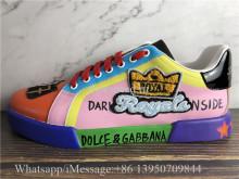 Dolce & Gabbana Portofino Sneakers Multicolor