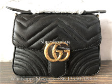 Original Gucci Marmont Small Top Handle Bag