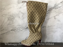 Gucci Women's GG All Over The Knee Boots