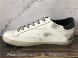 Golden Goose Deluxe Superstar Sneaker White Blue