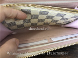 Original Louis Vuitton Damier Azur Canvas Clemence Wallet N61264