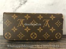 Original Louis Vuitton Monogram Fuchisa Clemence Wallet M60742