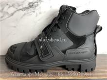 Dolce & Gabbana High Top Boot Sneaker Black