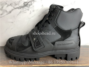 Dolce & Gabbana High Top Boot Sneaker Black