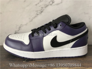 Air Jordan 1 Retro Low Court Purple