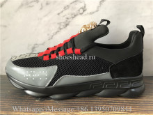 2Chainz Versace Chain Reaction Sneaker Black Red