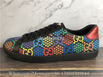 Super Quality Gucci Ace GG Supreme Low Psychedelic Black