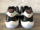 Air Jordan 11 Retro Low Black Infrared 23
