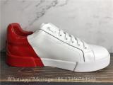 Dolce & Gabbana Portofino Sneakers White Red