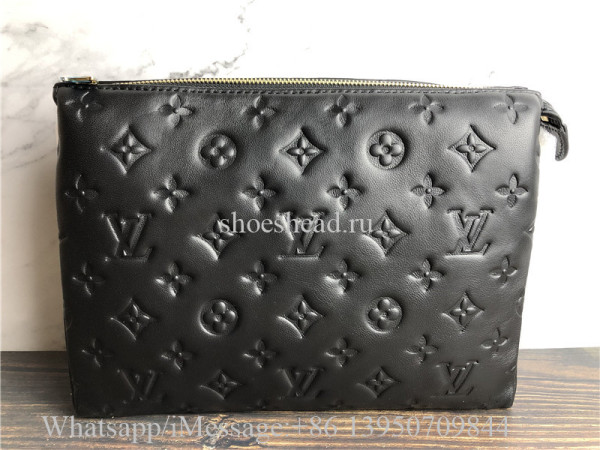 Original Louis Vuitton Coussin PM Black Handbag M57790