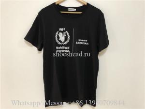 Balenciaga WFP Black T-shirt