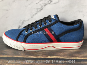 Gucci Off The Grid Sneaker Blue GG Econyl