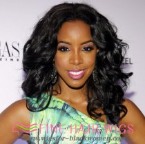 Ladystar 6  Short Curly Wigs For African American Women The Same As The Hairstyle In The Picture
