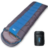 Camping Sleeping Bag, Lightweight 4 Season Warm & Cold Envelope Backpacking Sleeping Bag for Outdoor Traveling Hiking