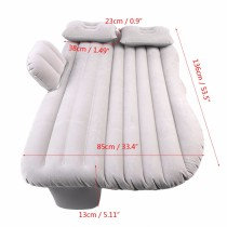 Car Bed Air Mattress Travel Bed Inflatable Mattress Air Bed Inflatable Back Seat Cover Inflatable Sofa Cushion