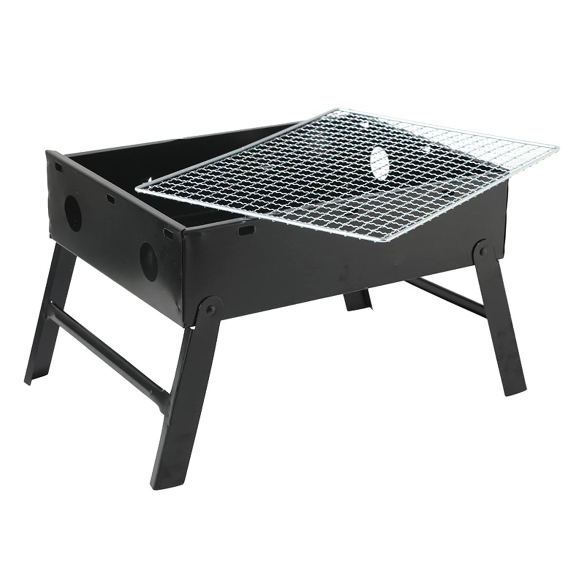 Portable BBQ Grill Folding Charcoal Barbecue Grills Camping Graden Outdoor Travel BBQ Tools Accessories Foldable Cookware