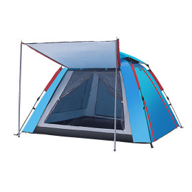 Tentsme Camping Instant Tent 3 4 5 Person Quick Setup 2 Doors 2 Windows Waterproof Rainy Green Blue 3 4 Season Cabin Oxford 95'x95'x61'