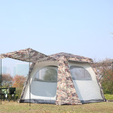 Tentsme Family Instant Waterproof Tent 6 7 Person Camping With Easy Setup Camouflage Cabin 2 Doors 3 4 Seasons Summer Winter 2 Windows 95'x95'x71'