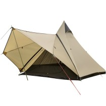 Tentsme Outdoor Pyramid Canvas Camping Teepee Tent For 3-4 Person
