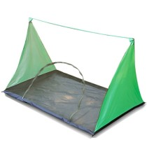 2 People Water Resistance Outdoor Camping Mosquito Fly Net Hiking Rodless Tent Lightweight Portable Anti-insect Tent