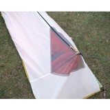 Tentsme Professional Portable 9 oz Ultralight Tent, 1 Person, White&Black, 3000 mm