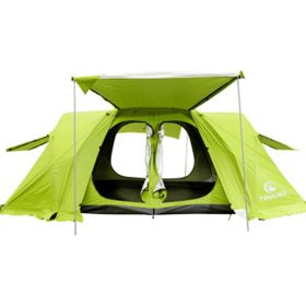 Large Space Family Tent 6 7 8 Person Outdoor Waterproof Green Car Trip Oxford Camping Wild Survival Picnic