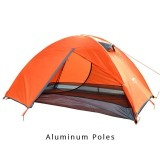 Tentsme Portable 2 Person Backpacking Tent, Green, Blue&Orange