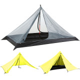 Tentsme Solo Hiking Lightweight Trekking Pole Tent, One Person