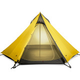 Ultralight Outdoor Camping Teepee 15D Silnylon Pyramid Tent 2-3 Person Large Tent Backpacking Hiking Tents