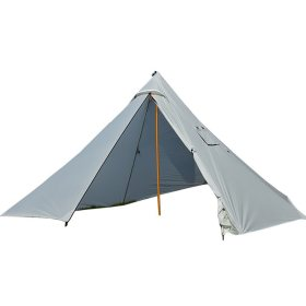 Ultralight 20D Silnylon Teepee Tent With Stove Jack For 3-4 Person, 126x63 inch