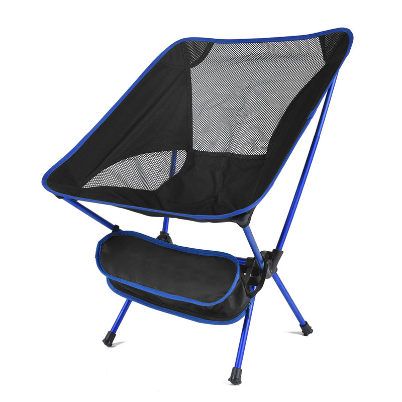 Ultralight Portable Aluminum Folding Camping Chair For Picnic Fishing