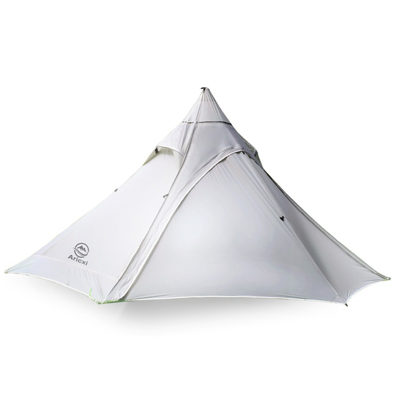 Outdoor Camping Teepee Tent Without Support Pole For 2-3 Person