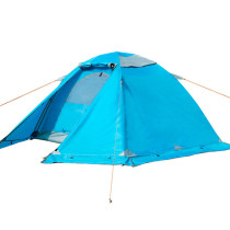 Camping Cold Weather Backpacking Tent With Tent Skirt For 2 Person BSWolf