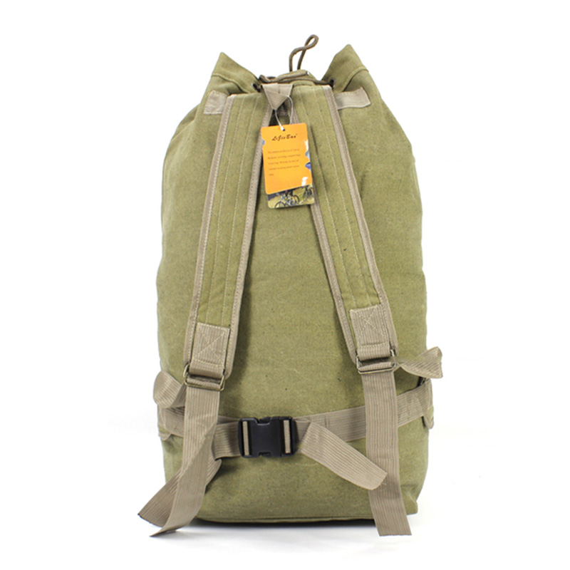 Camping Canvas Large Space 100L Backpack