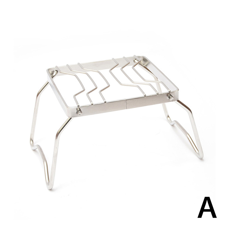 Tentsme Portable Outdoor Folding Campfire Grill 304 Stainless Steel