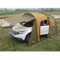Tentsme Portable Car Garage And Family Camping Dual-use Tent